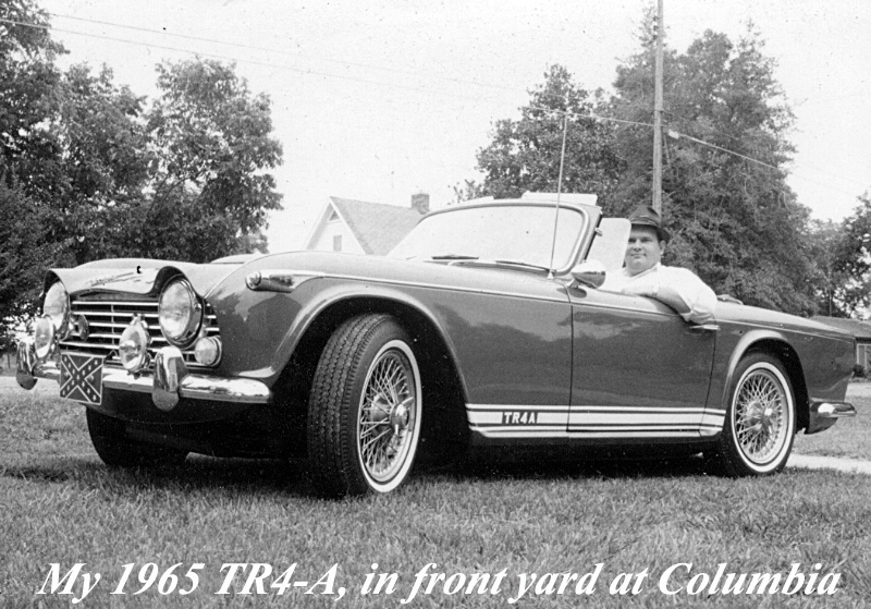 Me...66 TR4A Columbia Miss