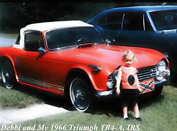 Debbi...66 TR4A Columbia Miss