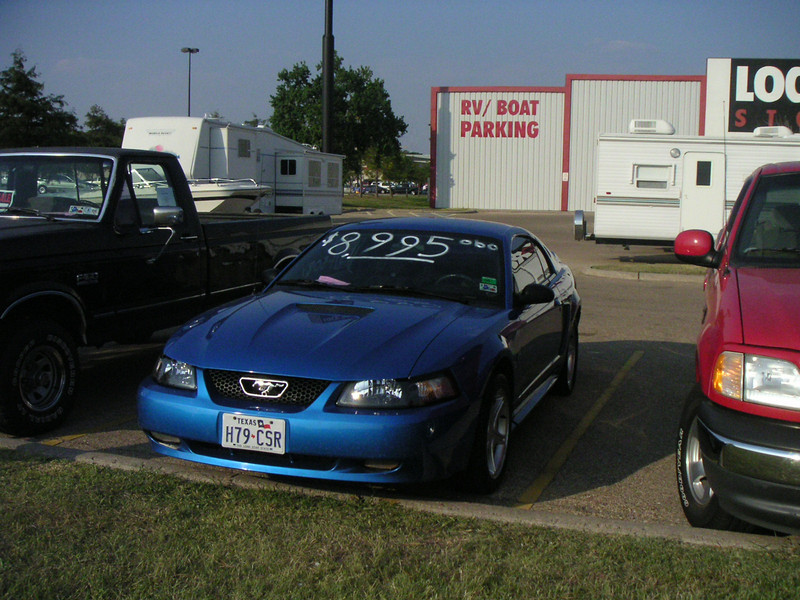 The very first picture I took of this car, as it looked the first time I ever saw it.