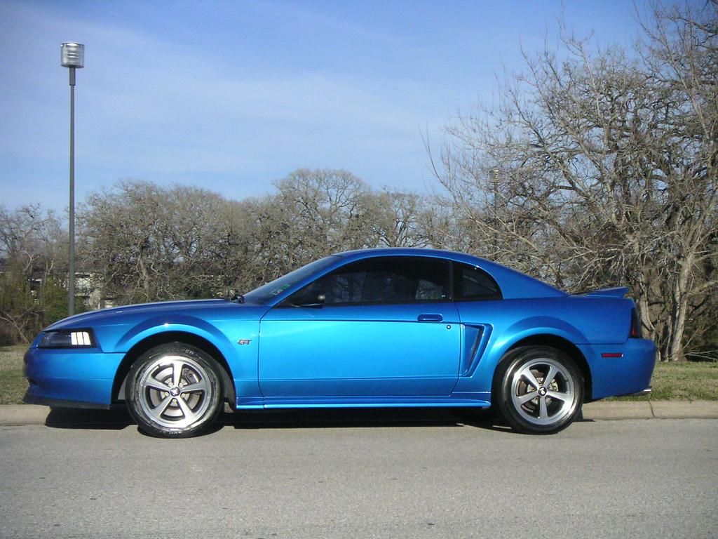 First mods were Mach 1 wheels ($150), an underchin spoiler ($50) and new foglights.