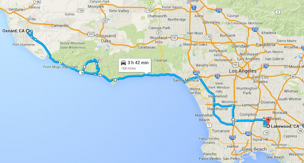 Road trip 2014 - day trip, PCH through Malibu and Mulholland HWY/canyon roads