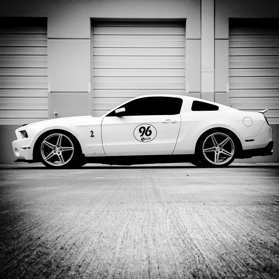 Post event shoot with the new stance and Forgeline SC1 monoblocks. iPhone photo.