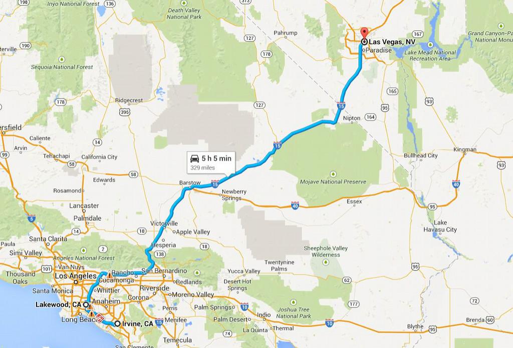 Road trip 2014, return, Day 1