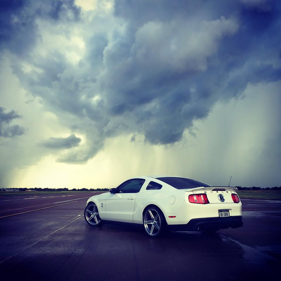 Between showers on the runway at Caddo Mills, TX, after shooting the KOTS winner for Texas Invitational. iPhone photo.