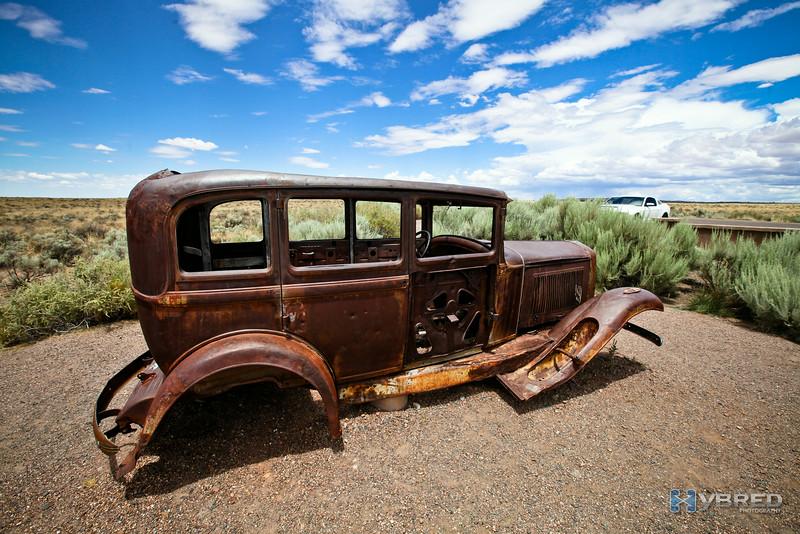 Route 66 Monument, Painted Desert National Monument, AZ