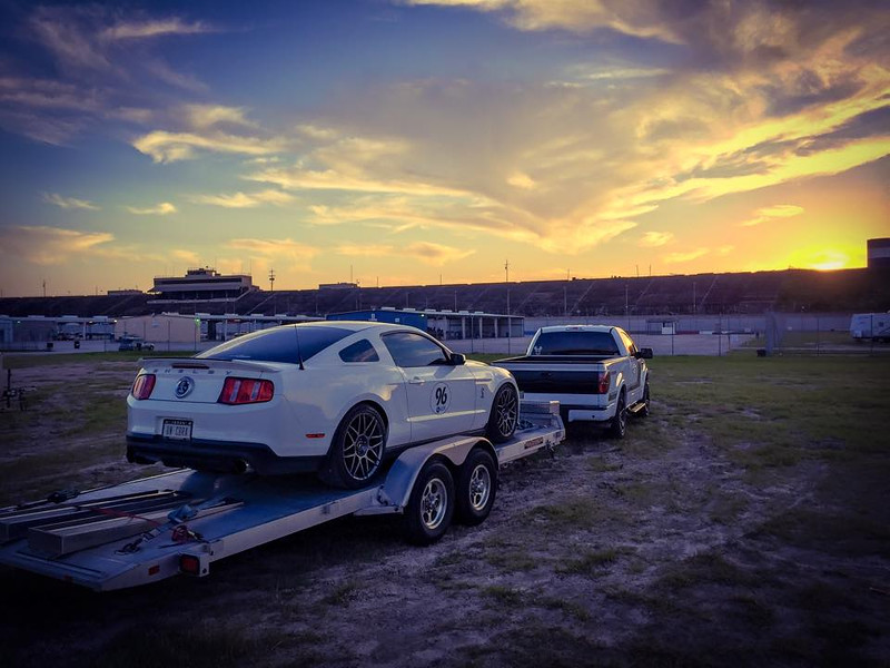 Sunset over my last Texas World Speedway track day, College Station, TX