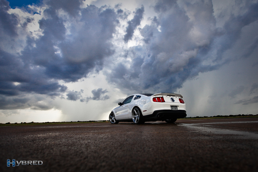 Between showers on the runway at Caddo Mills, TX, after shooting the KOTS winner for Texas Invitational.