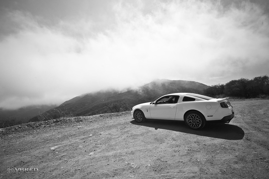 Mulholland Hwy, CA<br /> Marine layer in the mountains