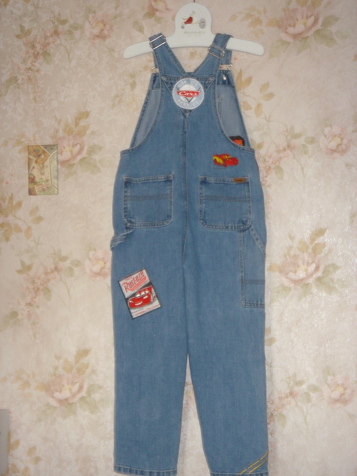 Back of overalls