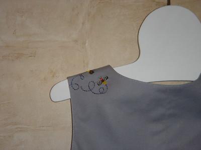 Back left shoulder