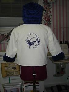 Allison's jacket & hat