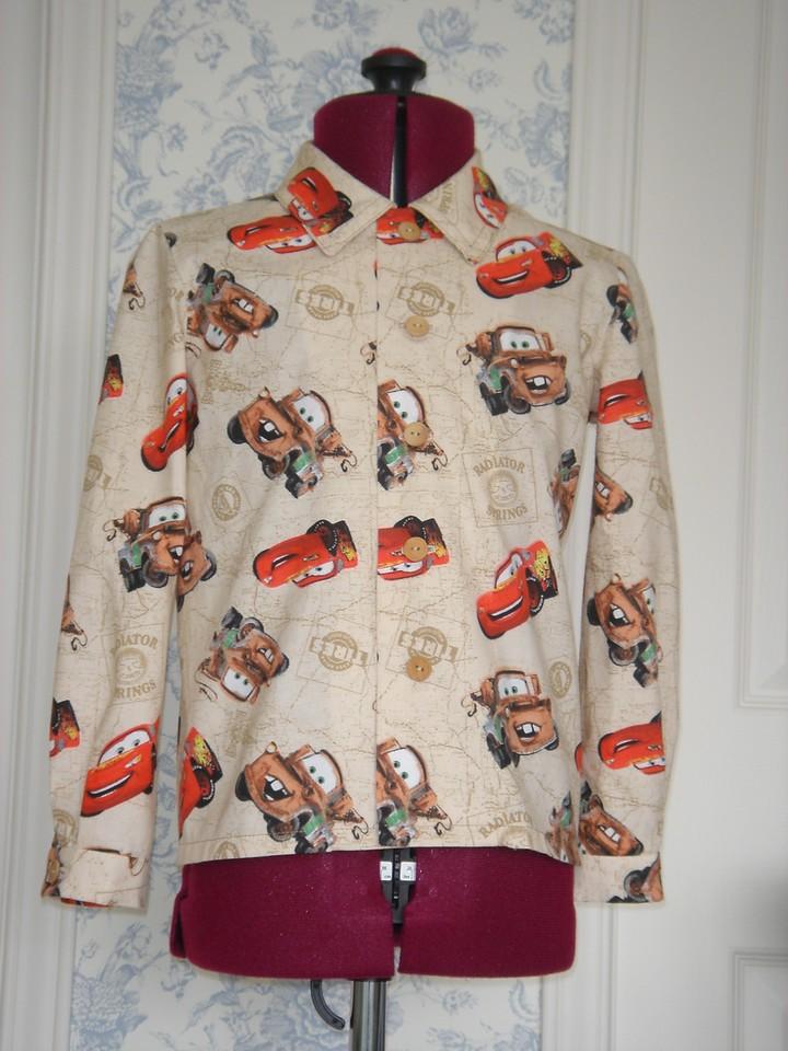 """Cars"" shirt for Babu"