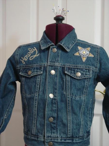 Babu's cowboy jacket jan 2006