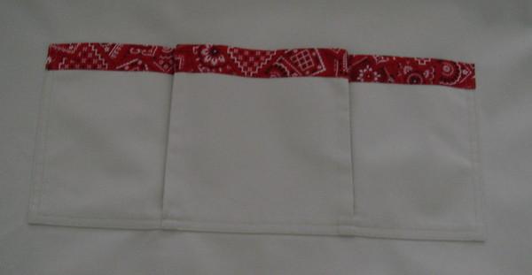 Closeup of pocket