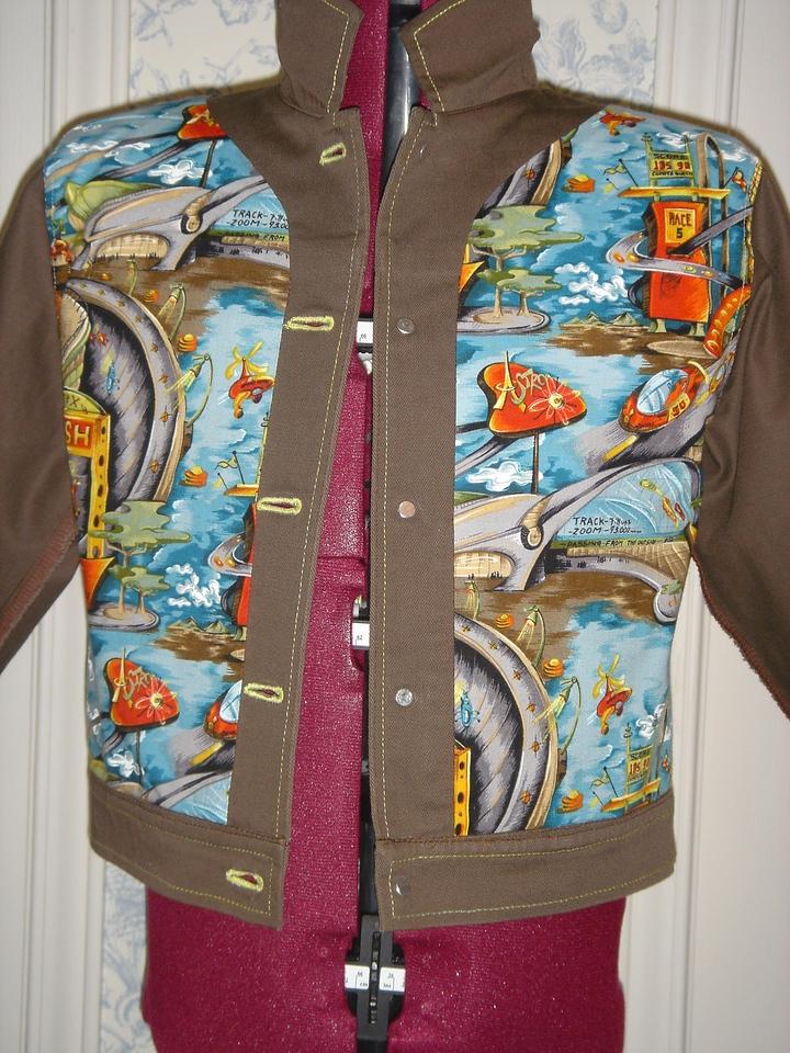 """Buck Rogers"" jacket front lining II"