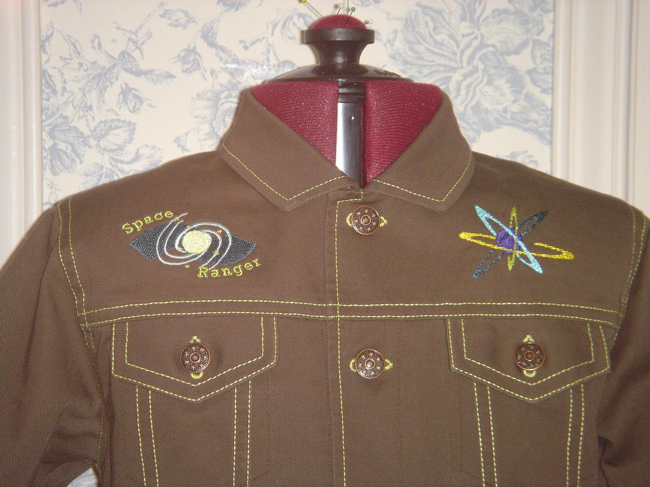 """""""Buck Rogers"""" jacket for Babu"""