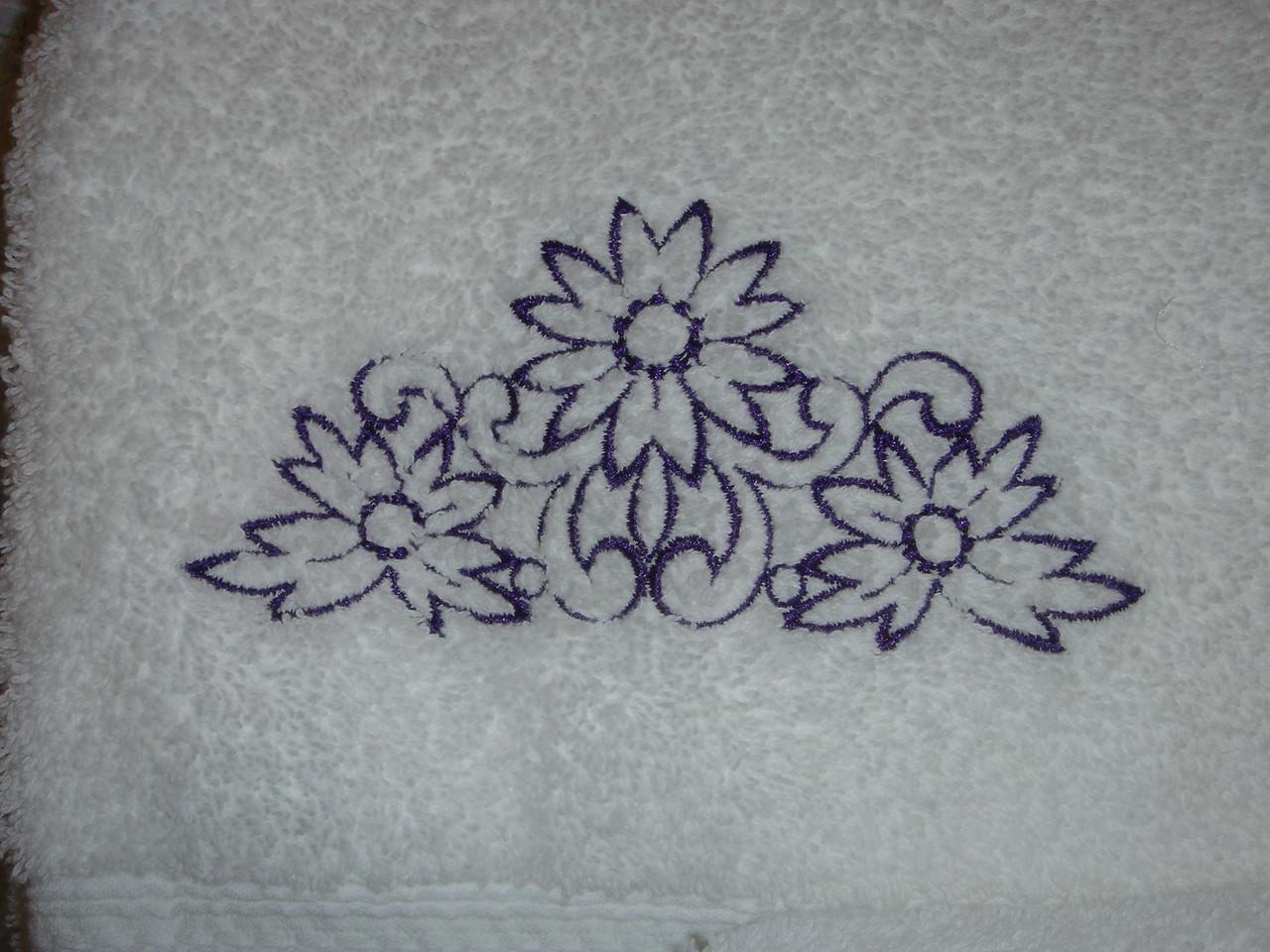 Closeup of towel