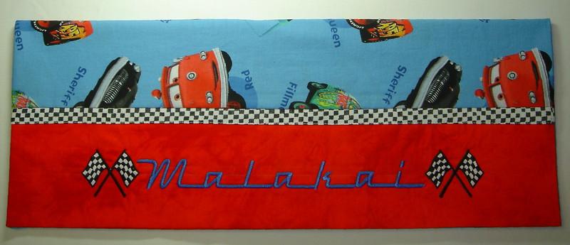 Cars Pillowcase for Malakai