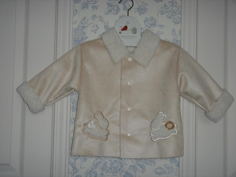 Spencer's bunny jacket