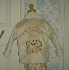 Back of jacket.