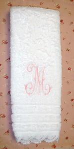 Towel for basement guest bathroom
