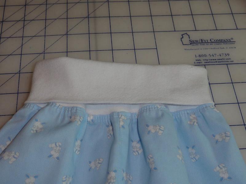 Closeup of waistband