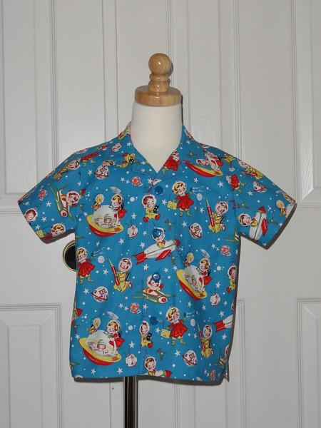 Spencer's retro spacekids shirt