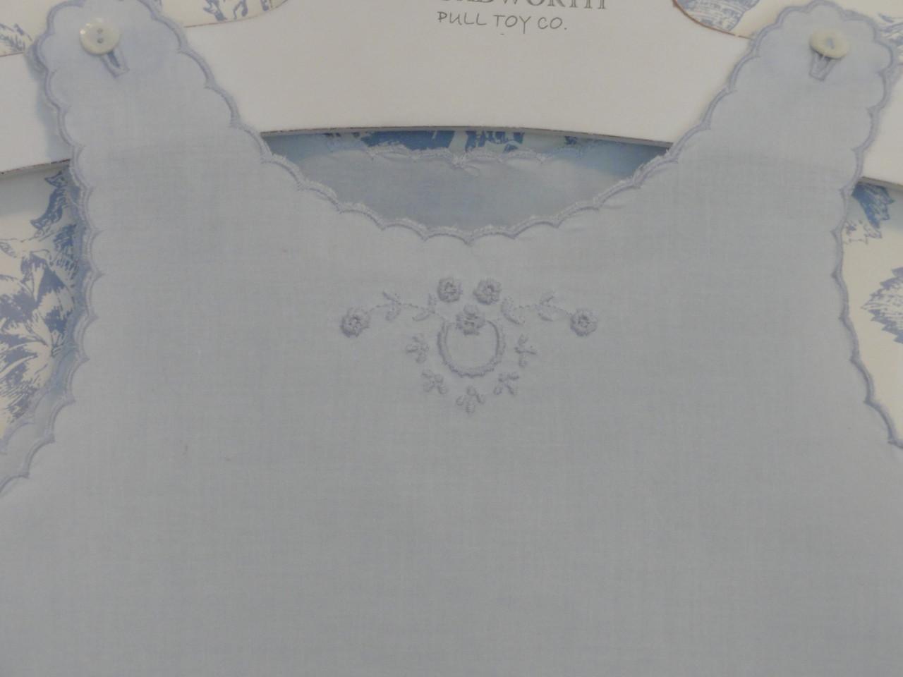 Closeup of top of slip