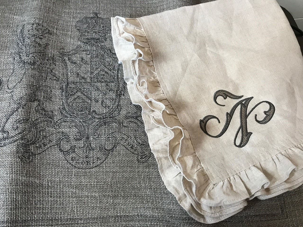Napkins with placemats