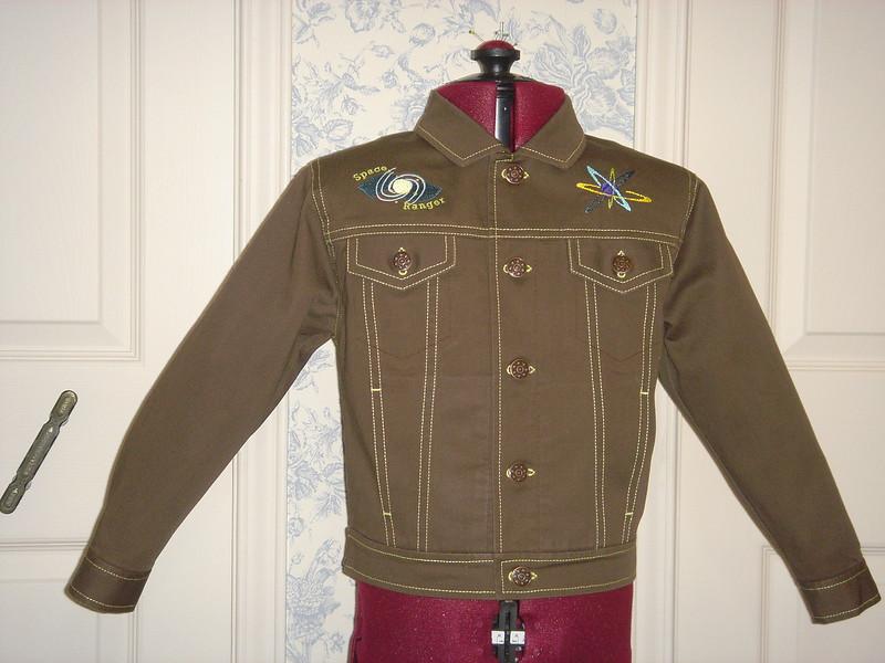 """Buck Rogers"" jacket front"