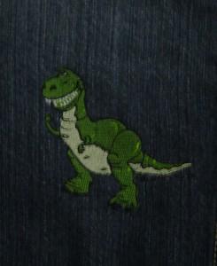 Closeup of Rex