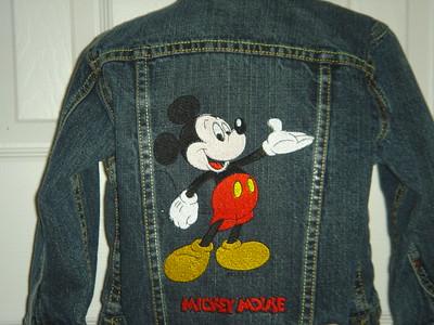 Closeup of big Mickey