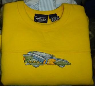 Babu fall RTW robot car shirt