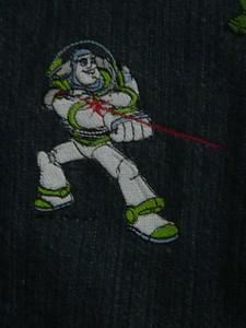 Closeup of Buzz