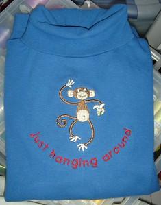 Babu fall RTW monkey shirt