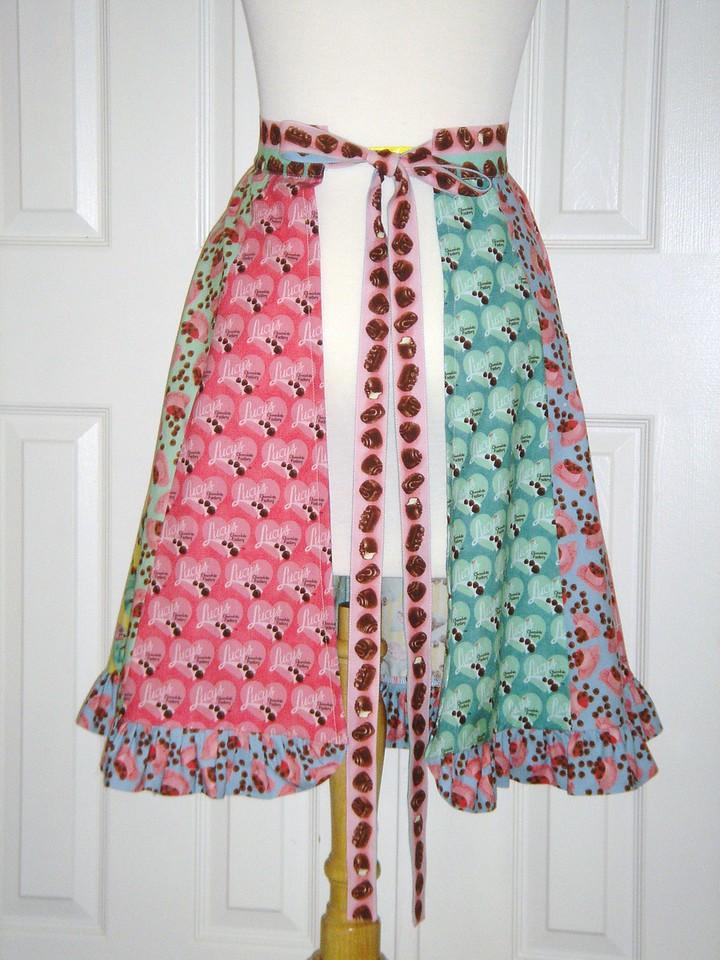 Back of apron