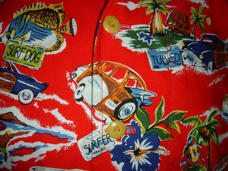 Closeup Jameson's shirt