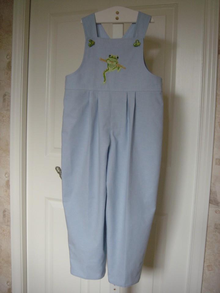 Frog overalls june 2005