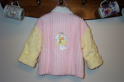chenille jacket back