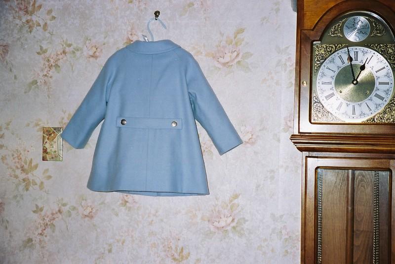 "Back of ""Christopher Robin"" coat"