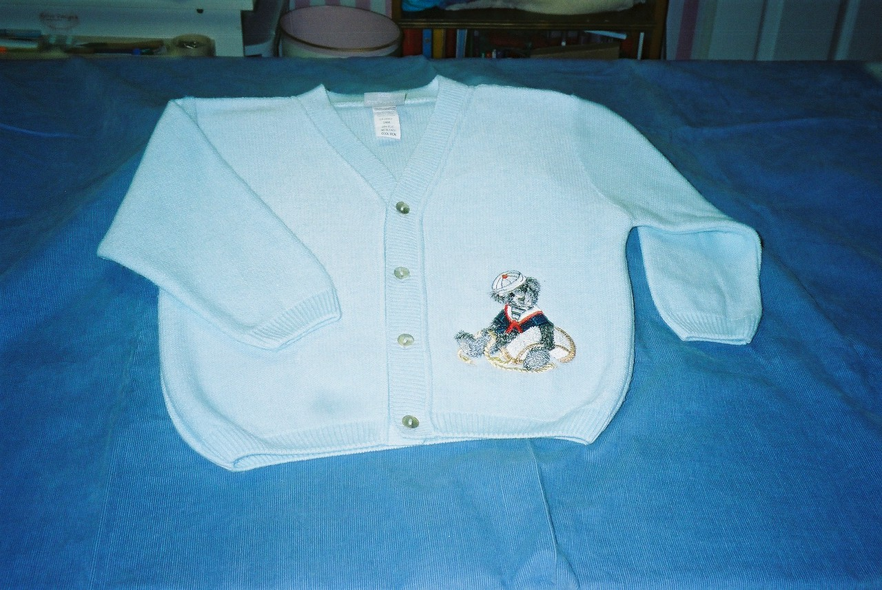 Purchased sweater