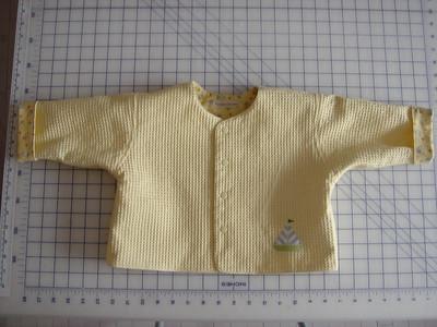 Jacket; waffle weave cotton