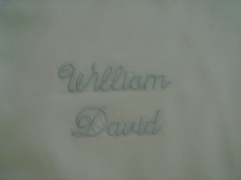 Name on blanket