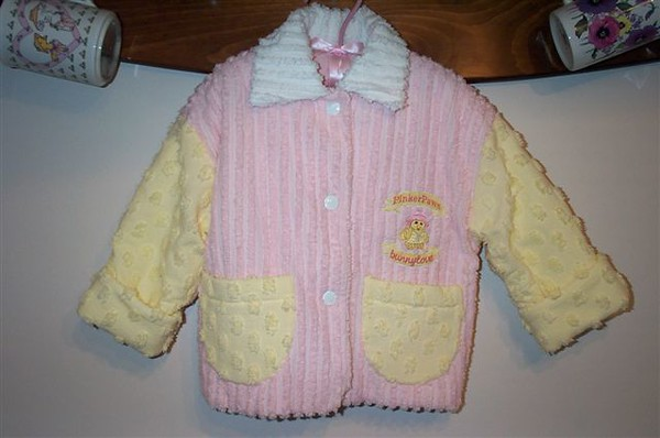 chenille jacket front