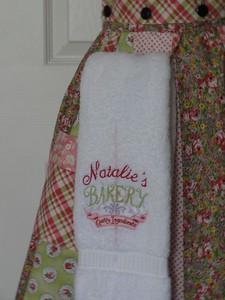 Closeup of apron