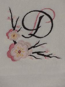 Closeup of hand towel
