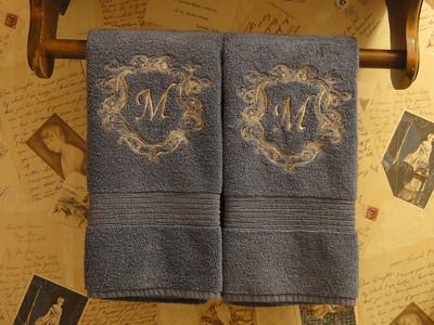 Mongrammed towels