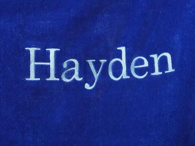 Closeup of Hayden