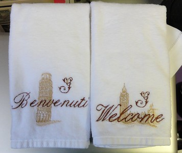 Towels for Sarah's future dmil