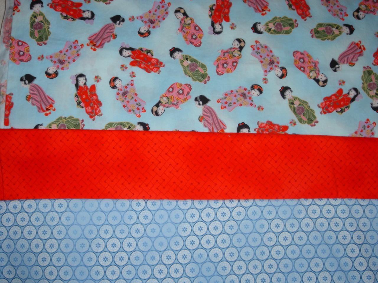 Fabrics for older girl's dress